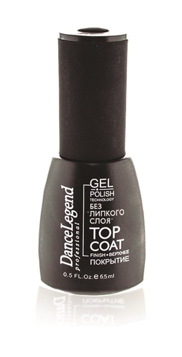 Gel Polish Top Coat Без липкого слоя MINI