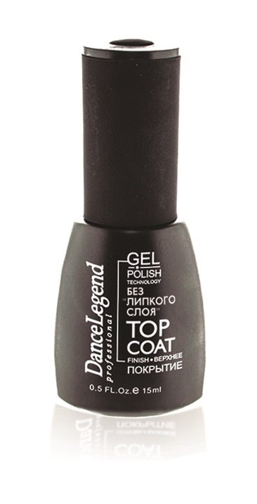 Gel Polish Top Coat Без липкого слоя